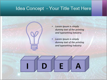 Art worm hole PowerPoint Template - Slide 80