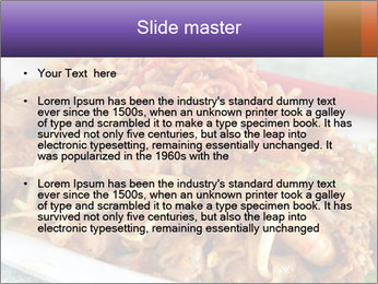 Penang Fried Noodle PowerPoint Template - Slide 2