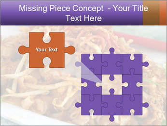 Penang Fried Noodle PowerPoint Template - Slide 45