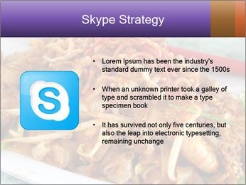 Penang Fried Noodle PowerPoint Template - Slide 8