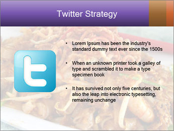 Penang Fried Noodle PowerPoint Template - Slide 9