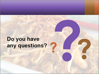 Penang Fried Noodle PowerPoint Template - Slide 96