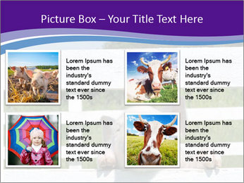Funny Pink Piggy PowerPoint Template - Slide 14