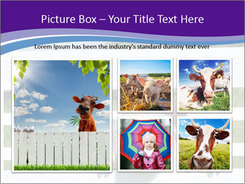Funny Pink Piggy PowerPoint Template - Slide 19