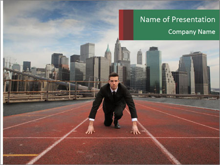 Business Race PowerPoint Templates