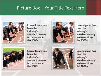 Business Race PowerPoint Template - Slide 14