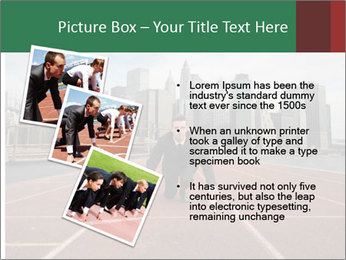 Business Race PowerPoint Templates - Slide 17
