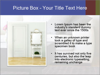 White couch PowerPoint Template - Slide 13