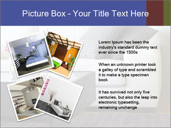 White couch PowerPoint Template - Slide 23