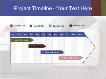 White couch PowerPoint Template - Slide 25