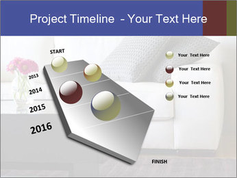 White couch PowerPoint Template - Slide 26
