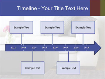 White couch PowerPoint Template - Slide 28