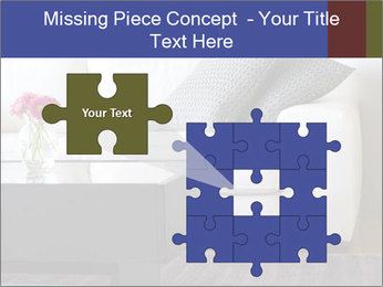 White couch PowerPoint Template - Slide 45