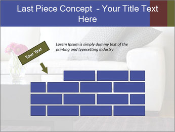 White couch PowerPoint Template - Slide 46