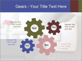 White couch PowerPoint Template - Slide 47