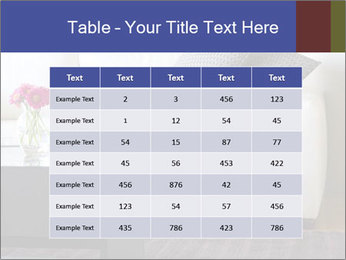 White couch PowerPoint Template - Slide 55