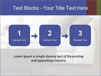 White couch PowerPoint Template - Slide 71