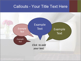 White couch PowerPoint Template - Slide 73
