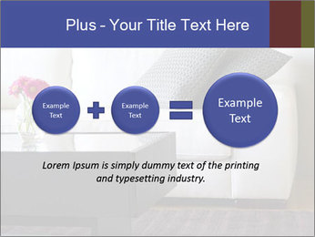 White couch PowerPoint Template - Slide 75