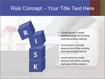 White couch PowerPoint Template - Slide 81