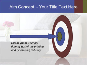 White couch PowerPoint Template - Slide 83