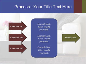 White couch PowerPoint Template - Slide 85
