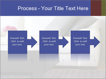 White couch PowerPoint Template - Slide 88