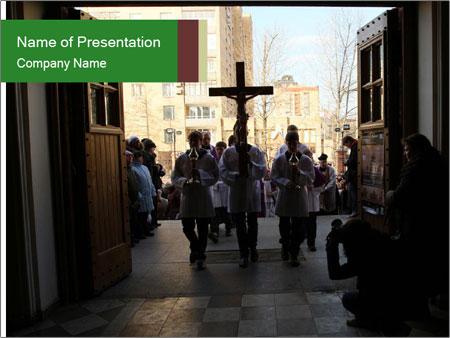 Catholic Ceremony PowerPoint Template
