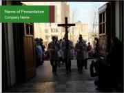 Catholic Ceremony PowerPoint Templates
