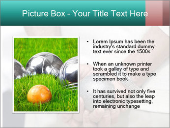 Man Holding Two Bowls PowerPoint Template - Slide 13