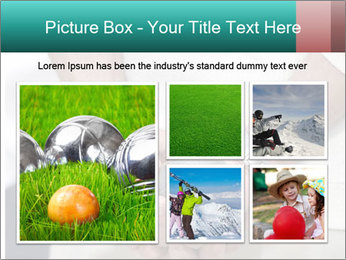 Man Holding Two Bowls PowerPoint Templates - Slide 19