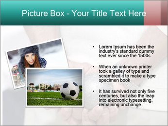 Man Holding Two Bowls PowerPoint Templates - Slide 20