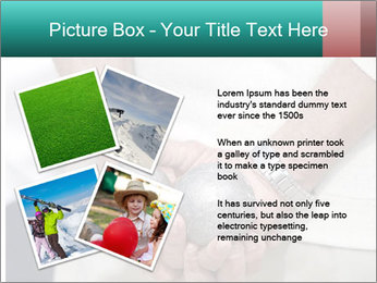 Man Holding Two Bowls PowerPoint Template - Slide 23