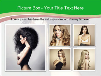 Stylish Woman With Short Haircut PowerPoint Templates - Slide 19
