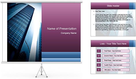 Massive Skyscraper PowerPoint Template