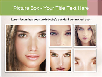 Female makeup PowerPoint Template - Slide 19