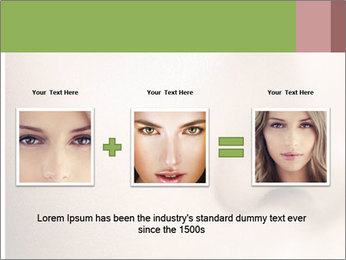 Female makeup PowerPoint Template - Slide 22