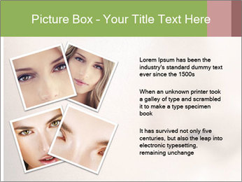 Female makeup PowerPoint Template - Slide 23