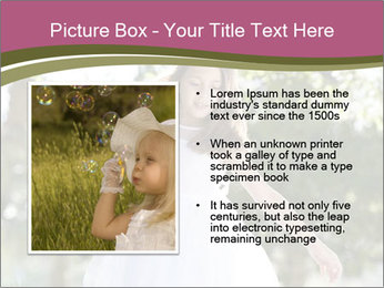 Beautiful child PowerPoint Template - Slide 13