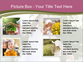 Beautiful child PowerPoint Template - Slide 14