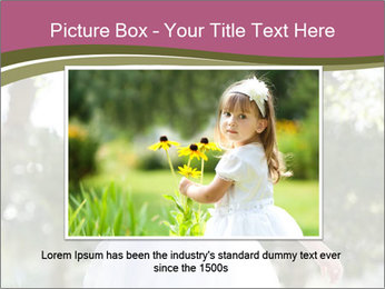 Beautiful child PowerPoint Template - Slide 15
