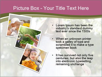 Beautiful child PowerPoint Template - Slide 17