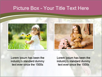 Beautiful child PowerPoint Template - Slide 18