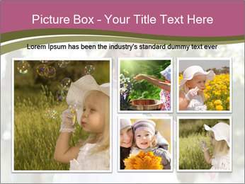 Beautiful child PowerPoint Template - Slide 19