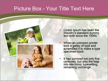Beautiful child PowerPoint Template - Slide 20