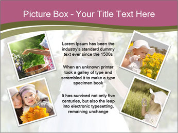 Beautiful child PowerPoint Template - Slide 24