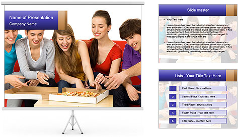 Friendship Concept PowerPoint Template