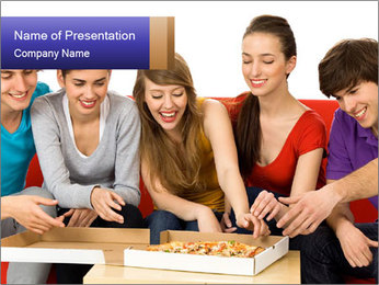 Friendship Concept PowerPoint Templates - Slide 1