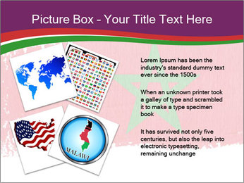 Flag Of Morocco PowerPoint Templates - Slide 23