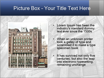 Black and white building PowerPoint Templates - Slide 13